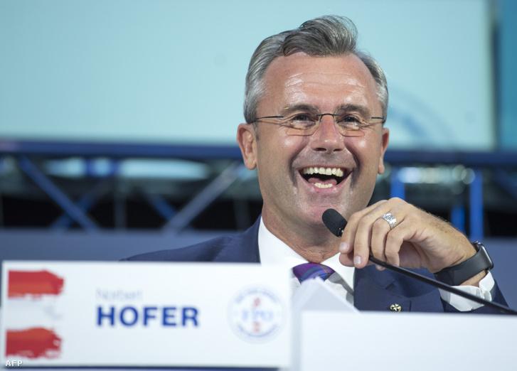 Norbert Hofer 2019. szeptember 14-én.
