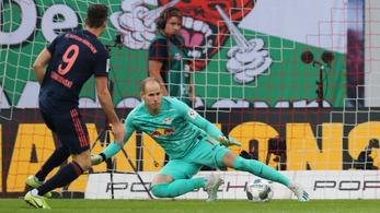 Extra bravúrral mentett pontot Gulácsi a Bayern ellen