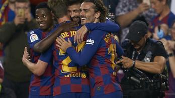 A Barcelona 16 éves zsenije 7 perc alatt gólt lőtt, gólpasszt adott