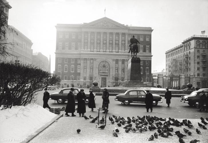 Galambok Moszkvában 1960-ban