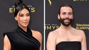 Egy uszályos férfi csúnyán leöltözte Kim Kardashiant a vörös szőnyegen