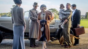 Fene se gondolta, hogy ennyire jó lesz visszatérni Downton Abbey-be