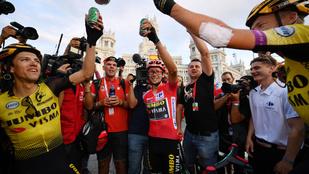 A síugróból lett kerékpáros nyerte meg a Vuelta a Espanát