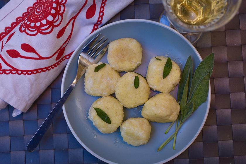 Habkönnyű, olasz ricottás galuska – Magában a legfinomabb