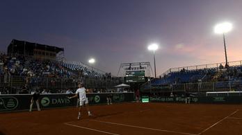 Davis Kupa: gyorsan lezárta Balázs az ukránok elleni meccset