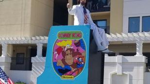 A megszégyenült Donkey Kong-bajnok visszavág
