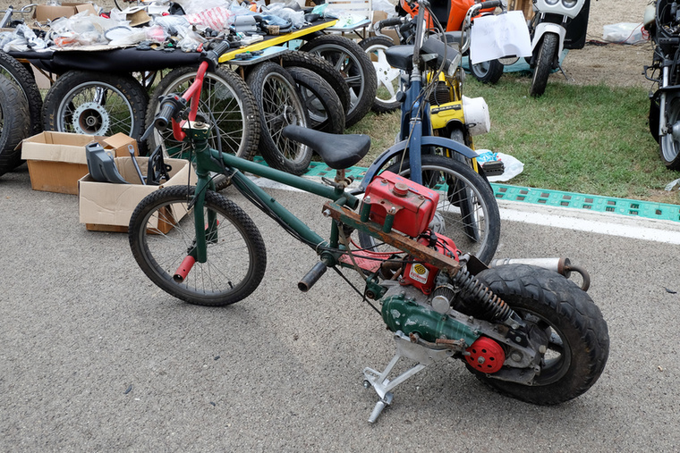 Orrom BMX, seggem robogó