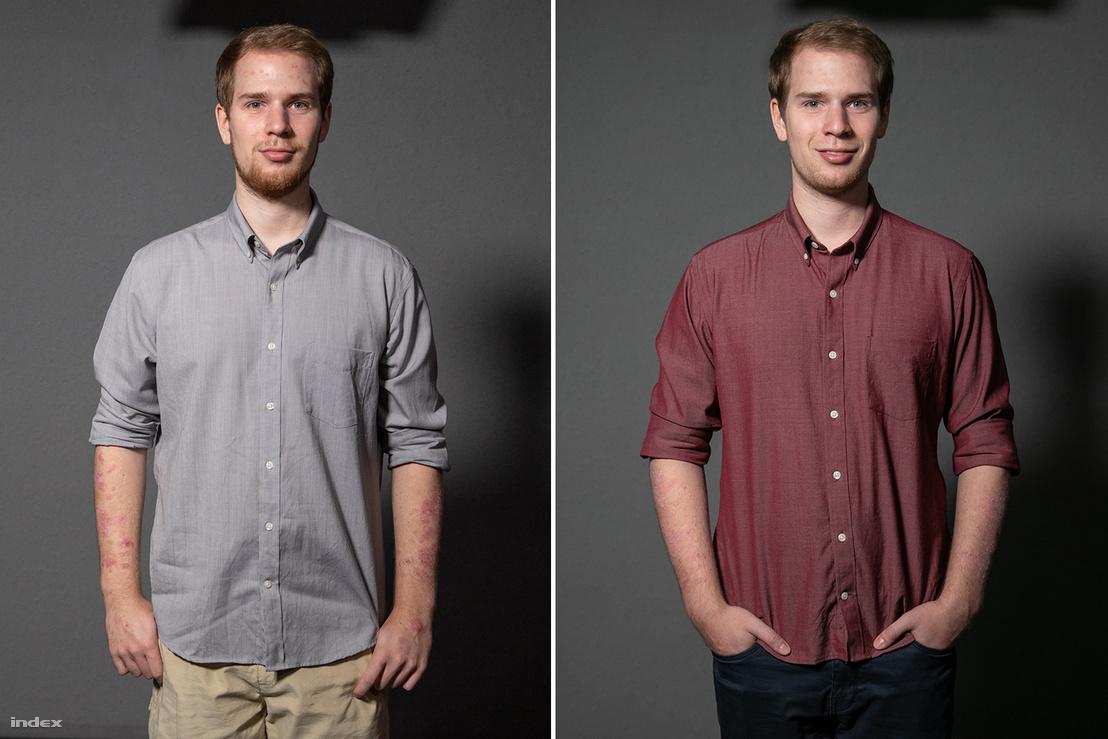 Az újonnan beszerzett ingek