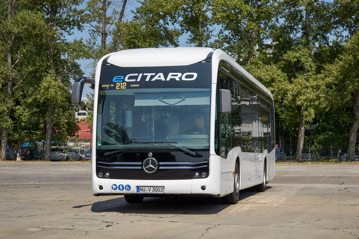 Budapesti buszokon kisebb az üvegfelület, de ez a megrendelőtől függ