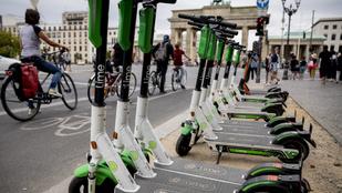 Bécsben, Berlinben tanítják a rollereseket, Budapesten büntetik