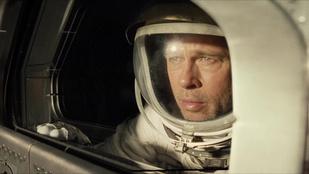 Brat Pitt a lelkét is kijátssza az űr-apakomplexusát kezelve