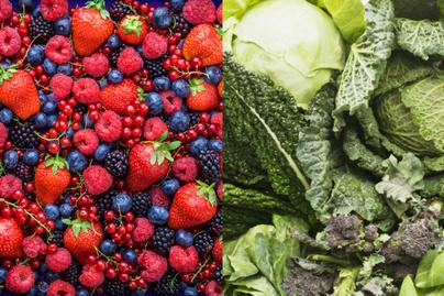 zöldségek gyümölcsök