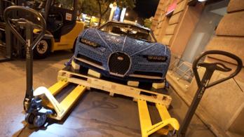 Budapesten a világ leglassabb Bugattija