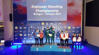 Aranyérmet nyert a sportlövő-Eb-n a junior vegyescsapat