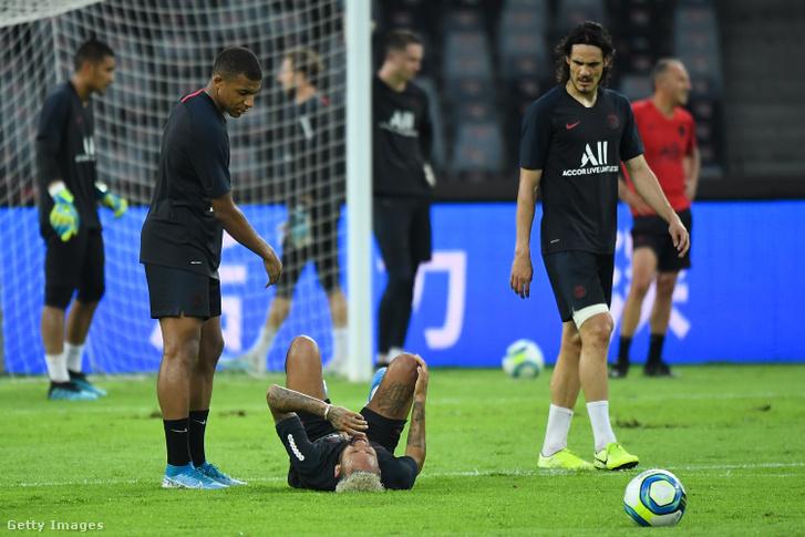 Mbappé, Neymar és Cavani