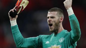 A kapus lesz a legjobban fizetett játékos a Manchester Unitednél
