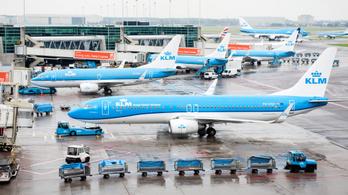 Környezetvédelmi okokból vonattal helyettesít egy repülőt a KLM