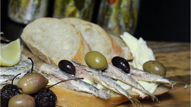 Szardínia olívaolajban