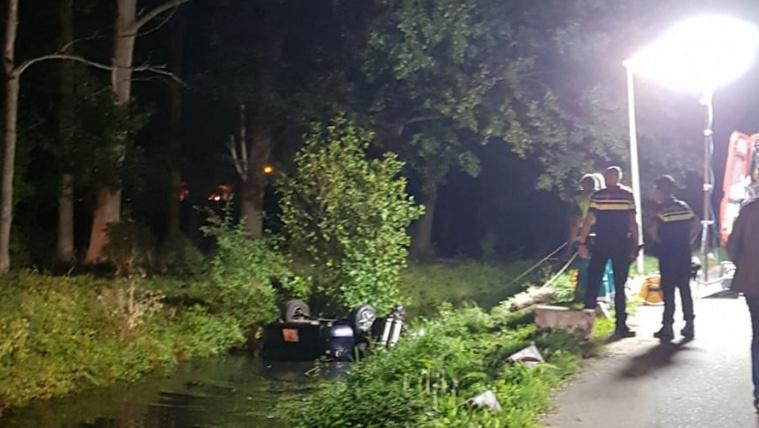 Egy csuromvizes magyart keresnek Hollandiában, aki a csatornában hagyta a kocsiját