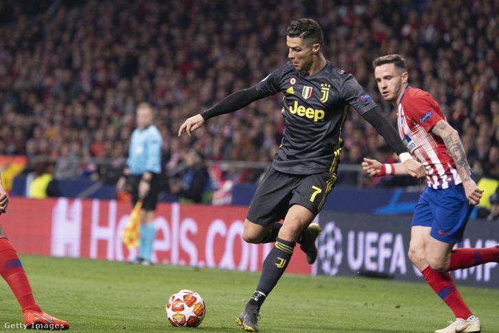 Ronaldo a Madrid elleni meccsen