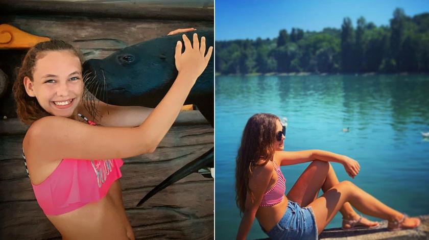 Kóbor János lánya, Léna nyáron sok időt tölt a vízparton. Édesanyjával imádják Olaszországot, de a Balaton is nagy kedvencük.