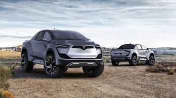Most éppen novemberre ígérik Tesla pickupot