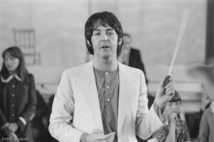 Paul McCartney 1968-ban.