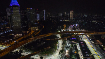 Veszélyben a hétvégi Szingapúri Nagydíj, az F1-nél B terven dolgoznak