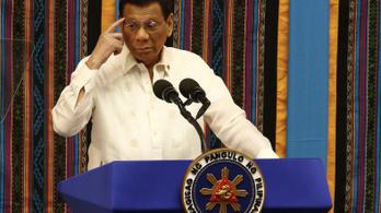 Duterte vadnyugatot csinál a Fülöp-szigetekből