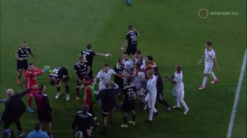 Hárommeccses eltiltást kapott a pofozkodó kisvárdai focista