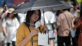 Négyezer japánt küldött kórházba a hőség