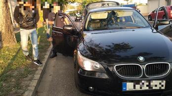 Négyféle kábítószer miatt volt nyugtalan a BMW utasa egy győri igazoltatáson