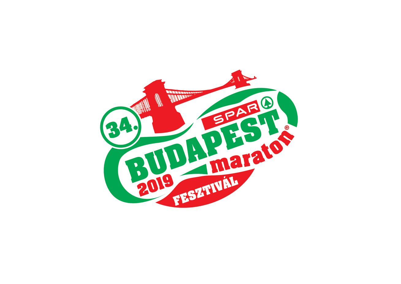 SPAR Budapest Maraton Fesztival logo 2019