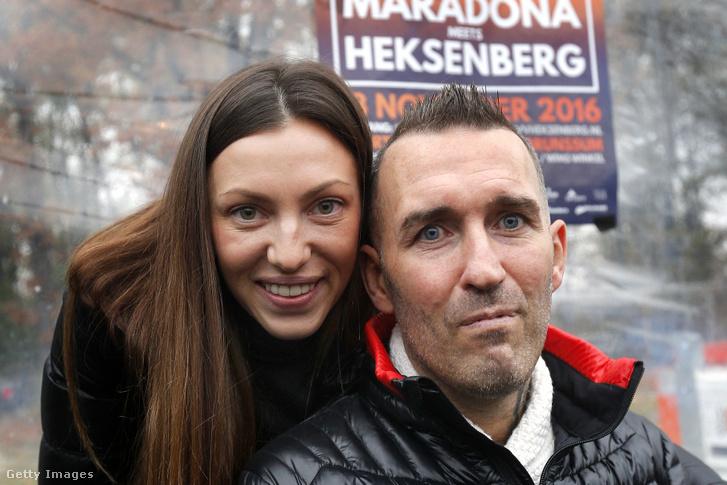 Fernando Ricksen és felesége Veronika