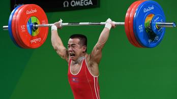 Két világcsúccsal szerezte ötödik vb-aranyát észak-korea mini súlyemelője