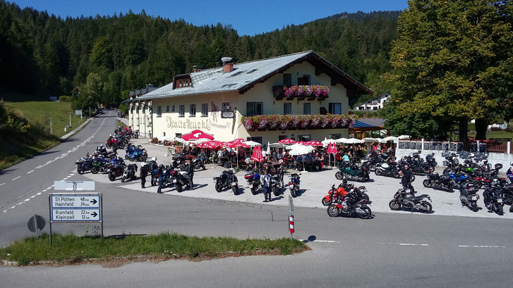 maga az Alpengasthof Kalte Kuchl