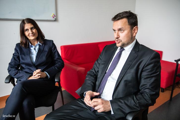 Fatalin Judit és Vadász Viktor