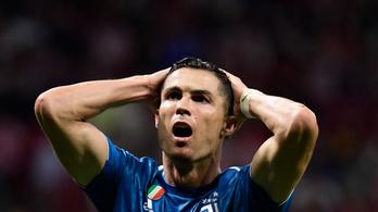 Cristiano Ronaldo élete szólógólja lett volna