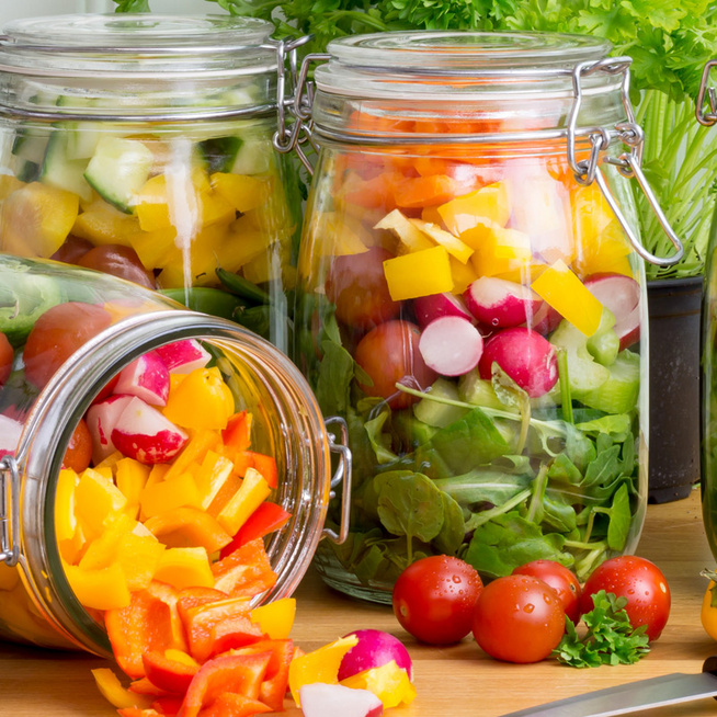 Friss, ropogós saláta 1 hét után is: ezzel a trükkel biztosan nem szottyad össze