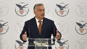 Orbán: Az államnak szüksége van titkosszolgálatra, alkotmányvédelemre, nemzetbiztonsági szolgálatokra