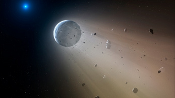 Aszteroidák szétrobbantásával küzdhetünk a globális felmelegedés ellen