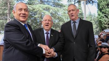 Visszautasította Netanjahut a győztes párt vezetője