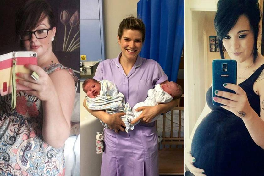 A két nő története megmutatja, milyen szoros a testvérek közti kapcsolat: 6 óra különbséggel adtak életet babáiknak