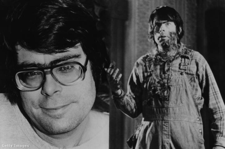 Stephen King forgatókönyvíróként és színészként a Creepshow című 1982-es filmben