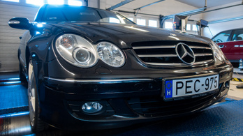 Totalcar Erőmérő: Mercedes-Benz CLK 500