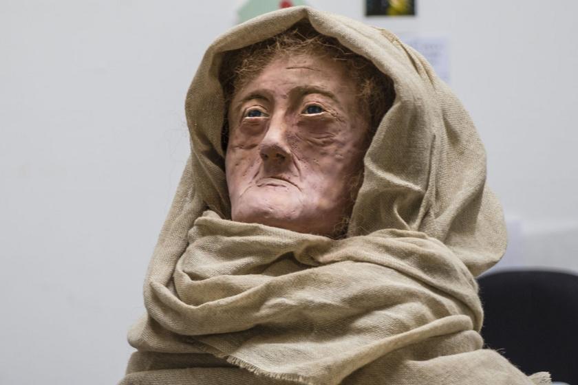 2 ezer éve élt druida nő: a 60 éves Hilda arcvonásait rekonstruálták