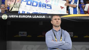 Rebrov: A Zagreb elleni 0-4-nek köszönhetjük ezt a pontot