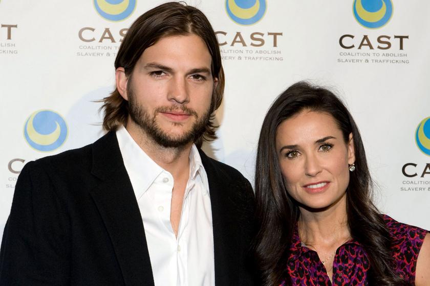 Demi Moore kiteregette a szennyest - Ashton Kutcher többször is megcsalta