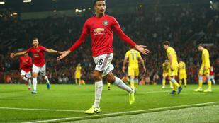 Egy 17 éves nyerte meg a Manchester Unitednek az EL-meccset