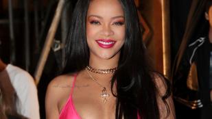 Rihanna saját magán prezentálta vadiúj fehérnemű kollekciójának darabjait